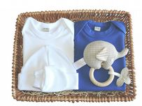 Little Boy Blue Boys Gift Baby Basket